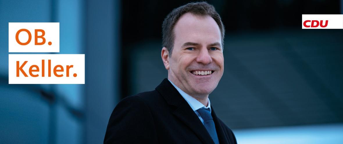 Bild von Dr. Stephan Keller, Oberbürgermeister-Kandidat der CDU Düsseldorf