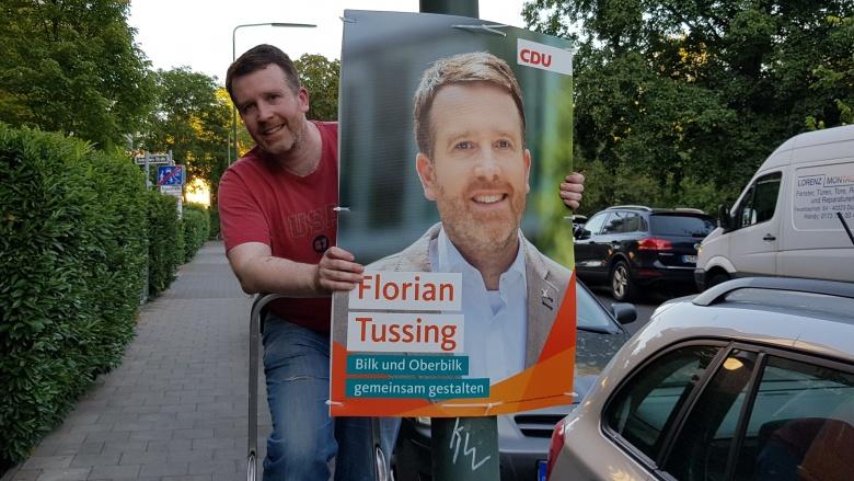 Florian Tussing packt mit an!