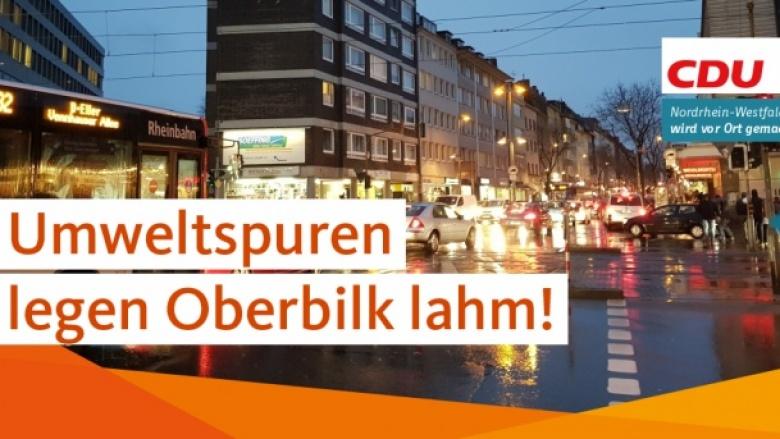 Foto mit viel Verkehr auf der Kölner Straße.