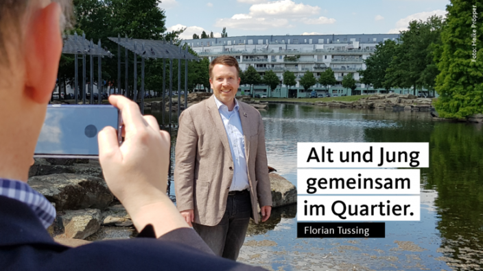 Florian Tussing wirbt für mehr passgenau Förderangebote für Jung und Alt